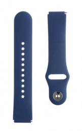 Tactical 805 Silikonový Řemínek 18mm Dark Blue