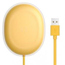 Baseus WXGD-0Y Jelly Bezdrátová Nabíječka Yellow