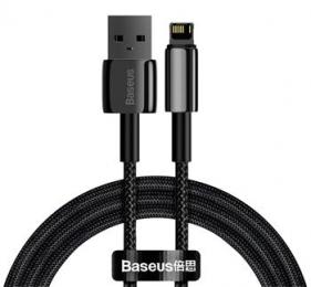 Baseus CALWJ-01 Tungsten Gold Kabel Lightning 2.4A 1m Black