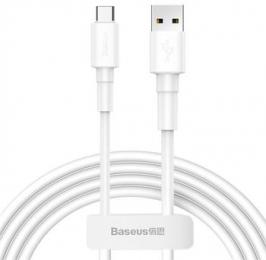 Baseus CATSW-02 Mini White Kabel USB-C 3A 1m White