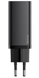 Baseus CCGAN2L-E01 GaN2 Lite Quick Nabíječka 2xUSB-C 65W Black