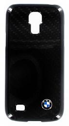 BMW Real Carbon zadní kryt Galaxy S4mini,Black