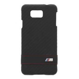 BMW Stripe Zadní Kryt Carbon Black pro Samsung G850 Galaxy Alpha