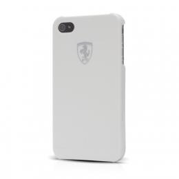 FESIHCP5WH Ferrari Zadní Kryt Metallic White Scuderia pro iPhone 5
