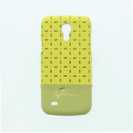 GUHCS4MPEY Guess Gianina Zadní Kryt Yellow pro Samsung i9195 Galaxy S4mini