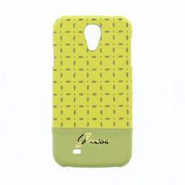 GUHCS4PEY Guess Gianina Zadní Kryt Yellow pro Samsung i9505 Galaxy S4