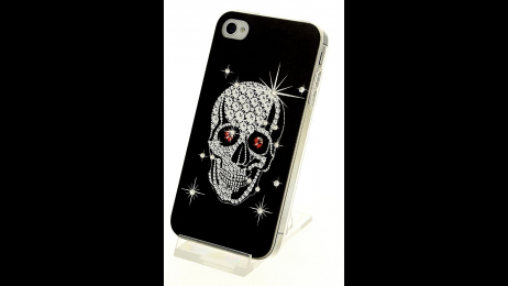 Silikonové pouzdro pro iPhone 4 a iPhone 4S lebka