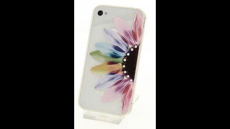 Silikonové pouzdro pro iPhone 4 a iPhone 4S slunečnice