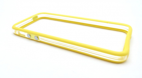 iPhone 5 OEM Bumper Yellow Transparent