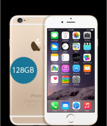 Apple iPhone 6 128GB Gold - vyměněný kus v rámci reklamace