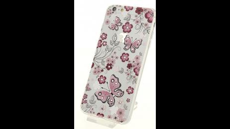 Plastový zadní kryt pro iPhone 6 Plus a iPhone 6S Plus motýl