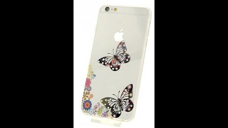 Plastový zadní kryt pro iPhone 6 Plus a iPhone 6S Plus motýli