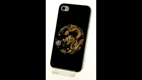 Plastový zadní kryt pro iPhone 4 a iPhone 4S čínský drak
