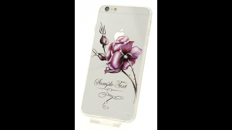 Silikonové pouzdro pro iPhone 6 Plus a iPhone 6S Plus růže