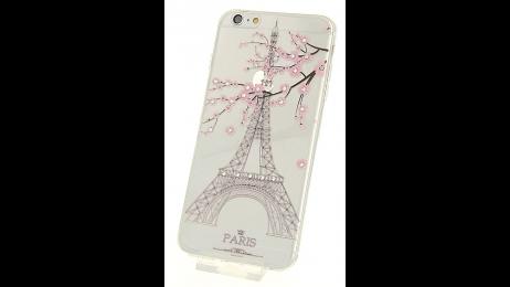 Silikonové pouzdro pro iPhone 6 Plus a iPhone 6S Plus Paříž