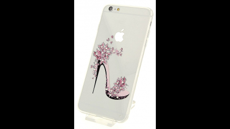 Silikonové pouzdro pro iPhone 6 Plus a iPhone 6S Plus květinová lodička