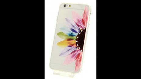 Plastový zadní kryt pro iPhone 6 Plus a iPhone 6S Plus květinová dáma