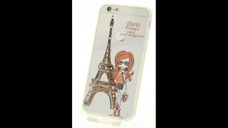 Silikonové pouzdro pro iPhone 6 a iPhone 6S Eiffelova věž