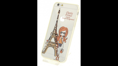 Plastový zadní kryt pro iPhone 6 a iPhone 6S Eiffelova věž
