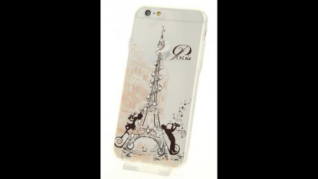 Plastový zadní kryt pro iPhone 6 a iPhone 6S Paříž