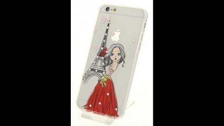 Plastový zadní kryt pro iPhone 6 a iPhone 6S Eiffelova věž II