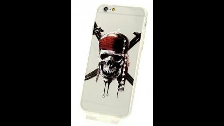 Plastový zadní kryt pro iPhone 6 a iPhone 6S Piráti z Karibiku
