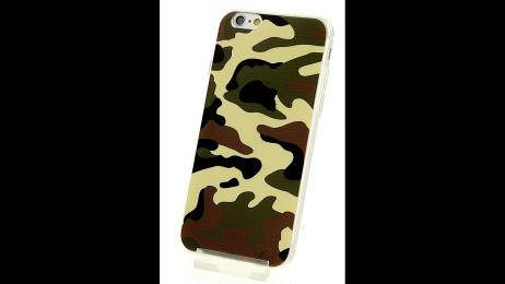 Silikonové pouzdro pro iPhone 6 a iPhone 6S ARMY