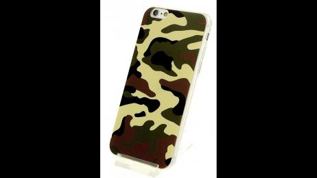 Plastový zadní kryt pro iPhone 6 a iPhone 6S ARMY