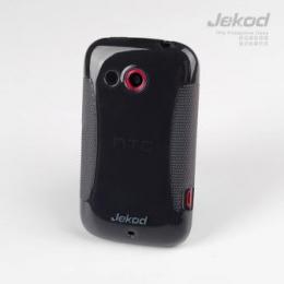 JEKOD TPU Ochranné Pouzdro Black pro HTC Desire 200/10E