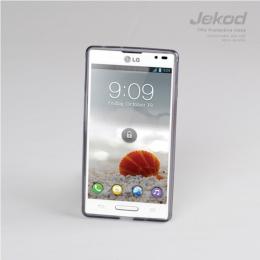 JEKOD TPU Ochranné Pouzdro Black pro LG D605 L9 II