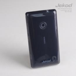 Jekod TPU ochranné pouzdro Black pro Nokia Lumia 520