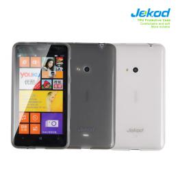 JEKOD TPU Ochranné Pouzdro Black pro Nokia Lumia 625