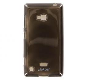 JEKOD TPU Ochranné Pouzdro Black pro Nokia Lumia 720