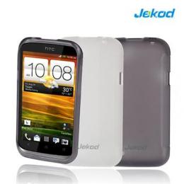 JEKOD TPU Ochranné Pouzdro White pro HTC Desire 200/10E