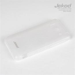 JEKOD TPU Ochranné Pouzdro White pro Huawei Ascend P6