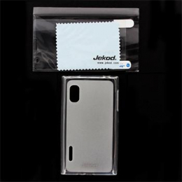 JEKOD TPU Ochranné Pouzdro White pro LG E610 L5