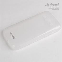 JEKOD TPU Ochranné Pouzdro White pro Samsung S7270 Galaxy Ace3