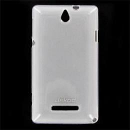 JEKOD TPU Ochranné Pouzdro White pro Sony Xperia M C1904/1905