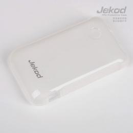 JEKOD TPU Ochranné Pouzdro White pro Sony Xperia Tipo (ST21i)