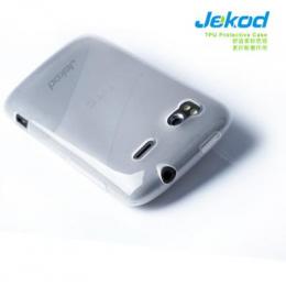 Jekod TPU ochranné pouzdro White pro HTC Desire C