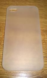 Plastový zadní kryt pro Apple iPhone 4/4S bílý