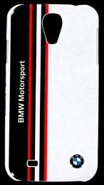 Pouzdro BMW Shiny Finish Samsung i9195 S4 mini bílé