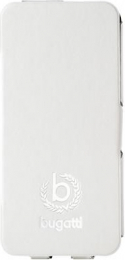 Pouzdro Bugatti Geneva Folio Samsung i9195 Galaxy S4mini bílé