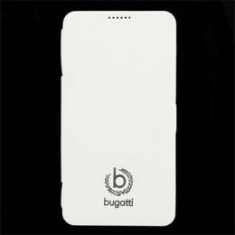 Pouzdro Bugatti Geneva Folio Samsung N9005 Galaxy Note3 bílé
