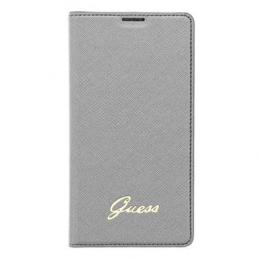 Pouzdro Guess Tori Flip Samsung G900 Galaxy S5 stříbrné