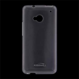 Pouzdro Kisswill TPU Samsung G925 Galaxy S6 Edge bílé