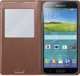Pouzdro Samsung EF-CG900BF zlaté (EF-CG900BFEGWW)