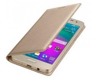 Pouzdro Samsung EF-FA300BFE pro Samsung Galaxy A3 Gold