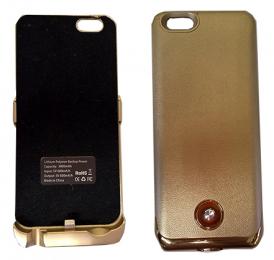 Zadní kryt pro Apple iPhone 6 s PowerBankou 3800 mAh zlatý