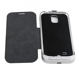 Samsung i9500,i9505 externí baterie s pouzdrem černá